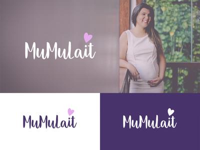 MuMuLait logo design concept