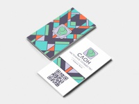 СЛОН business card design