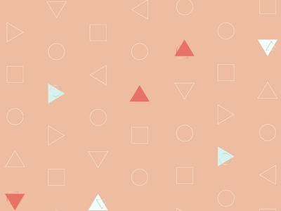Delicate Triangles seamless pattern textile delicate blush peach light blue blue coral shapes triangles gradient minimalist pattern geometric surface design illustration design