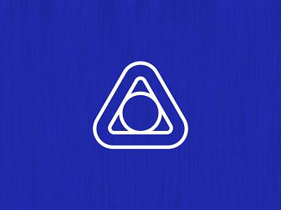 TriO Logo Concept symbol brand circle triangle graphicdesign illustration vector icon branding logo design