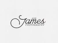 Ash James Photography Logo
