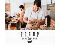 Forum Coffee House Branding