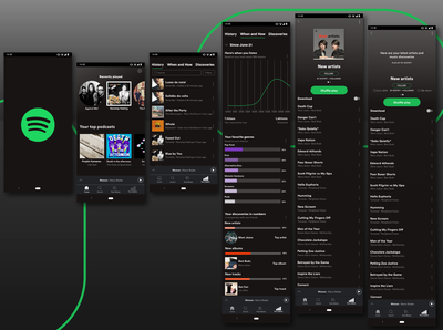 Spotify - Adding a feature