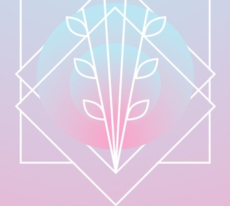 Antler branding gimp logo design illustration