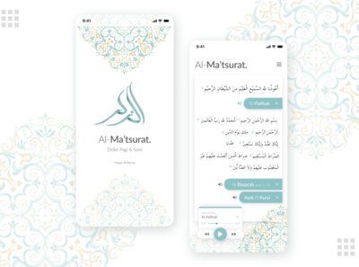 Al Matsurat for Dribbble