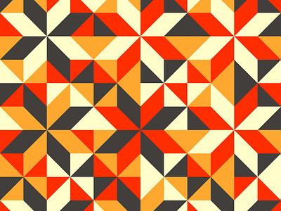 [Pattern] Fall geometric design geometric illustration geometric art geometrical geometric geometry flower design illustration artwork art 2d 2d art weekly challenge weekly warm-up weeklywarmup