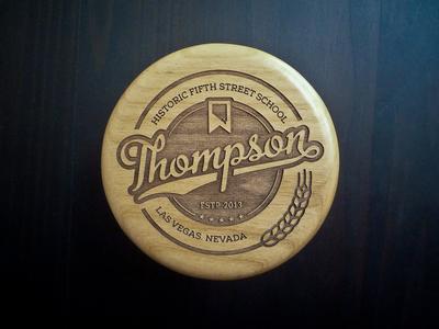 Thompson Wedding Coasters