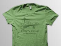 Liberty bridge full shirt