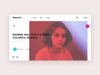 News Website Concept