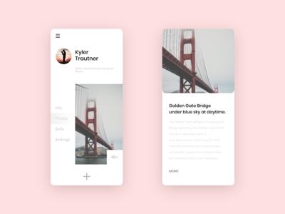 Minimal UI Design