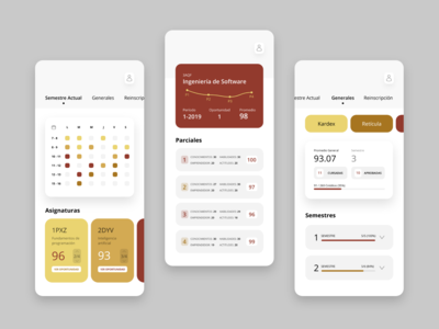 School Management System - App Concept