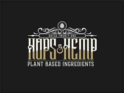 Hops & Hemp Skincare Design