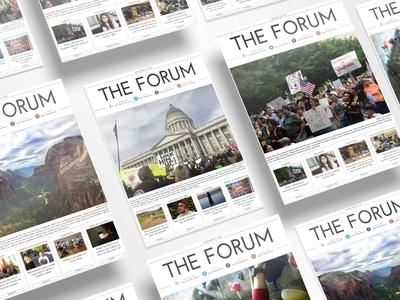 The Forum Newspaper Design