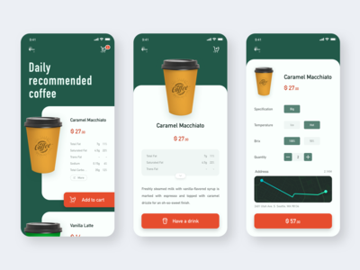 The app about coffee
