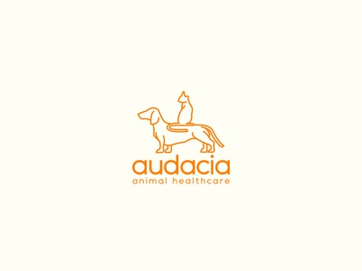 Audacia Animal Healthcare Logo Proposal