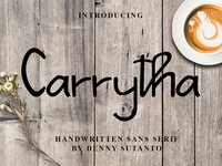 Carrytha Font