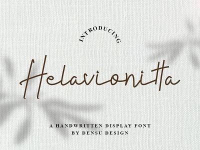 Helavionitta Font handwritten font font design designs unique handlettering graphicdesign display cool branding font helavionitta