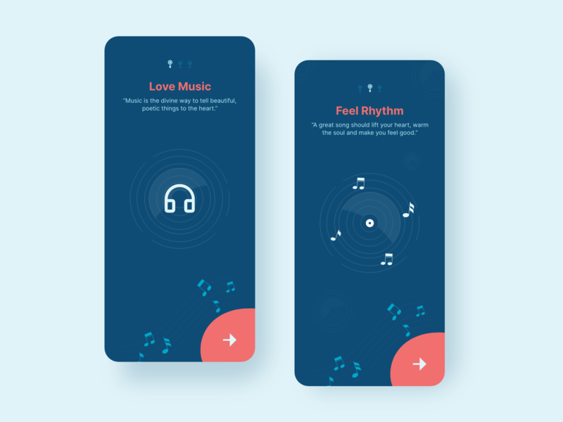 Music App Onboard uiinspiration userexperiencedesign userexperience uxui app design product design dailyinspiration dailyui music app uxdesigns uxdesigner uxdesign uiux uidesign userinterface uitrends mobile app app ux ui
