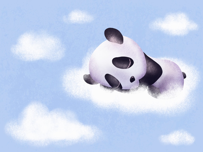 Cloudy Panda