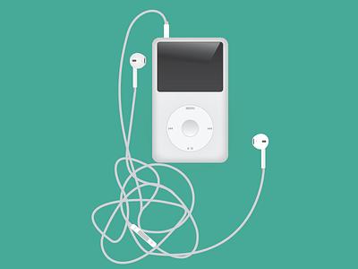 Ipod Classic ipod illustration