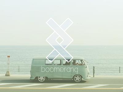 Concept Branding: Boomerang Branding design web logo branding