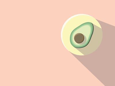 Breakfast Time: Avocado vector illustration art illustration drawing illustrator cc illustrator art