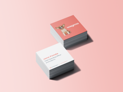 Wagmo Square Business Cards