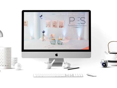 Pacific Event Services Website