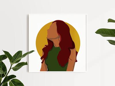 Find Your Sunshine design illustration illustration art portrait illustraion
