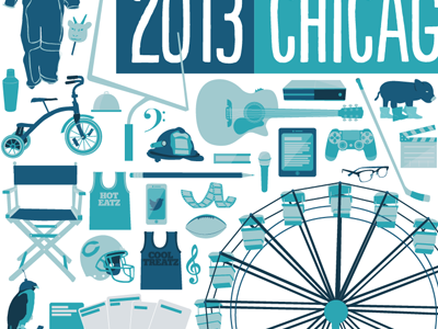 A Chicago story illustration vector chicago redeye