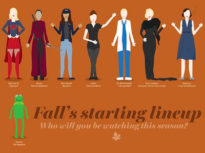 Fall's starting lineup