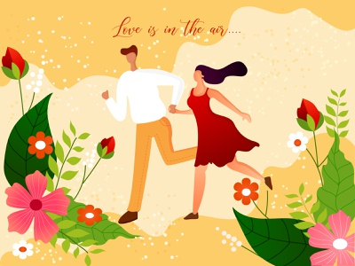 Happy Valentine's Day valentinesday 2021 yellow clen cupule valentines valentine day love women graphic girl illustration girl character girl illustration