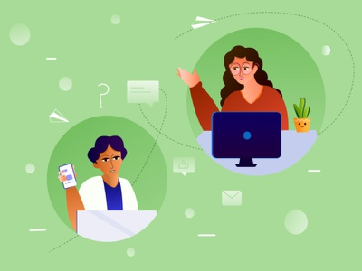 Virtual Meeting characters discussion minimal clean graphic design meeting virtual design graphic illustration