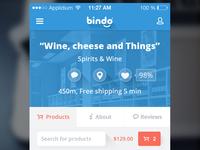 Bindo Mobile Shopping app