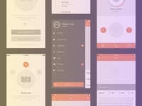 Free set of 100+ UX mockups for iPhone and iPad