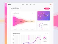 Elegant UI kit - Dashboard
