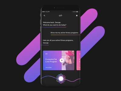Fitness App AI health fit loss fat training iphone iphone 8 ios ai app fitness
