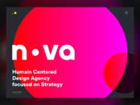 NOVA - Studio website design
