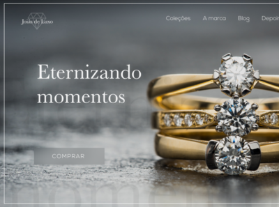 Web Design - Luxury jewellery