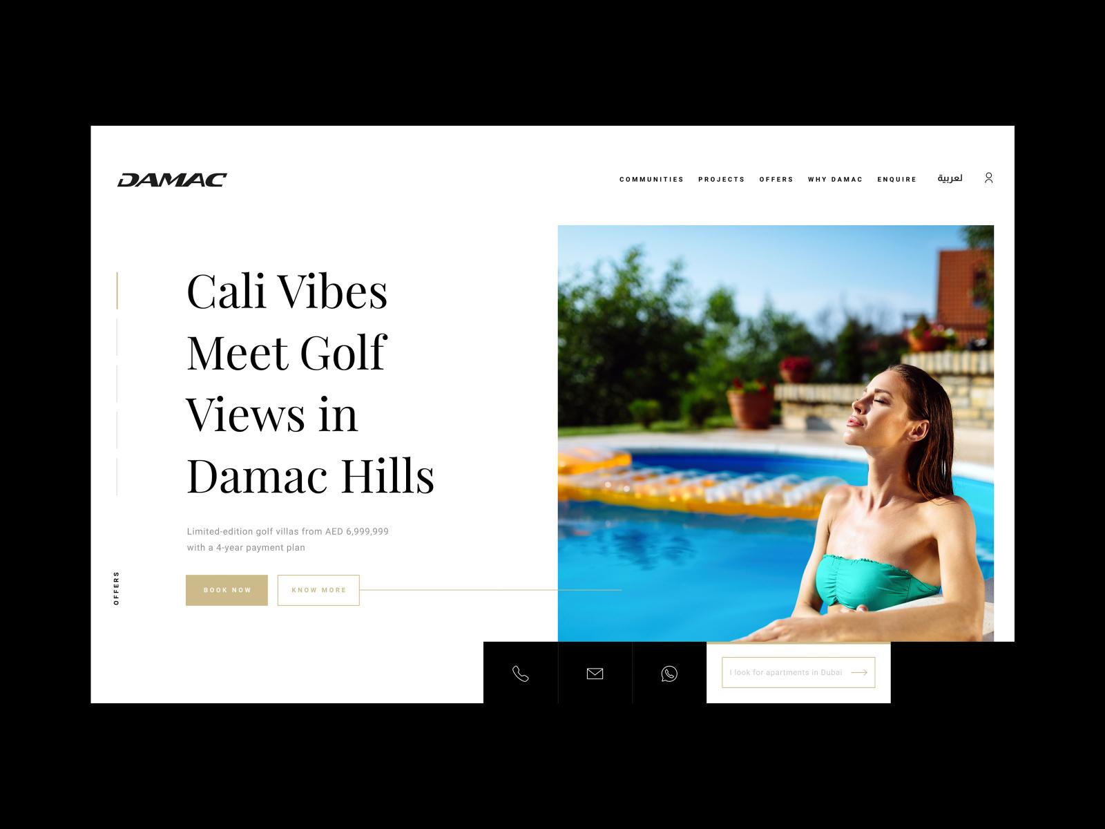 Damac Properties Website