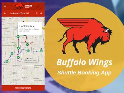 Buffalo Wings mobile app app designs app development company mobile app development