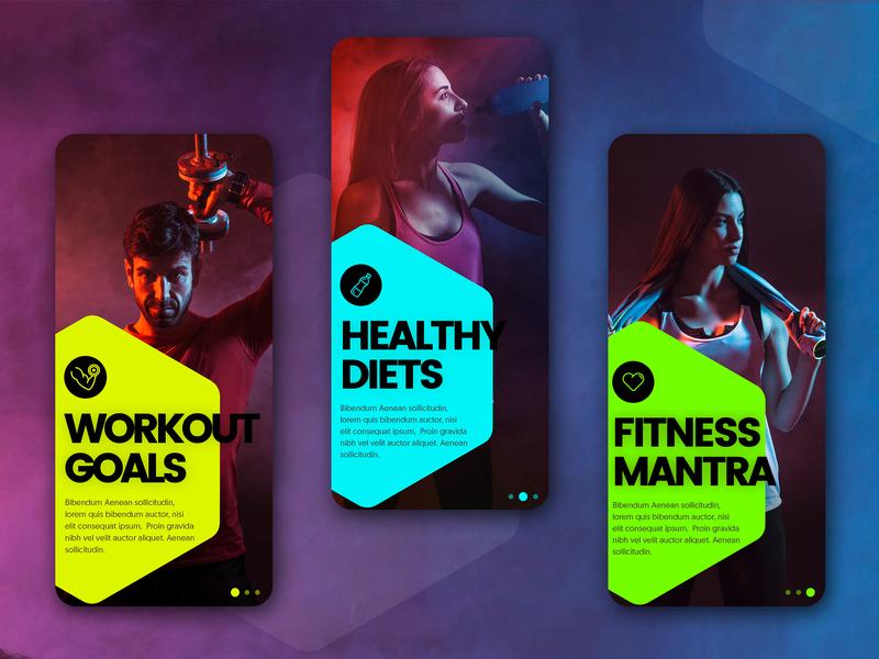 Fitness App workout app diet app health app exercise ios app android app app development company android app development ux iphone ios interface flat fitness fitness app ui app designs appschopper mobile app development