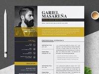 Professional word resume cv template