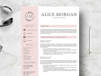 Two Pages Resume