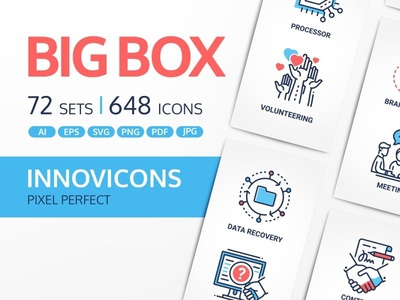 Innovicons Color Icons Full Bundles