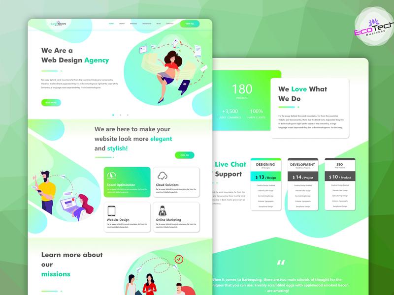 software business website