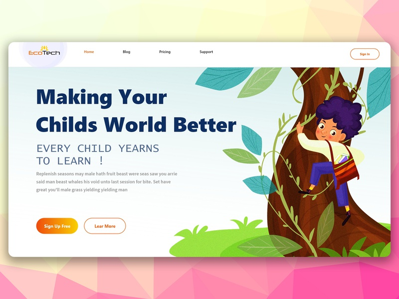 Making Your  Childs World Better