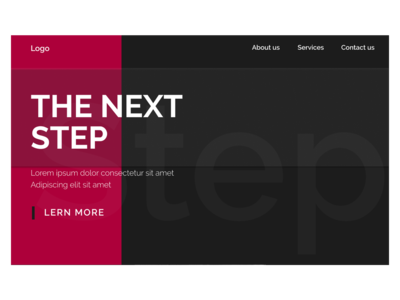 The next step Template - 1