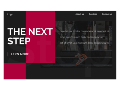 The next step Template - 3