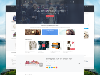 Steady - Ecommerce Final Product